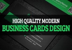I will design Professional double sides business card