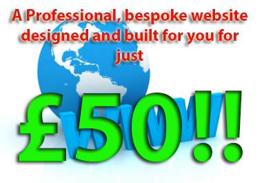 build you a professionally designed and SEO optimised website