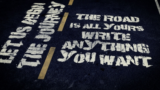 cccccc-create this BEAUTIFUL, admirable and highly realistic Road Intro with your Texts and Logo just