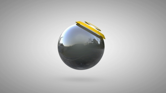 make this 3D Ball LOGO Reveal intro video