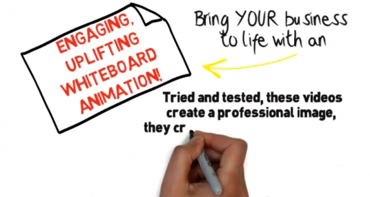 develop a professional whiteboard animation video