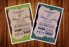 I will design your invitation cards