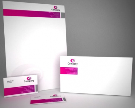 cccccc-design a stationery pack for your business