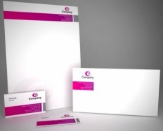 I will design a stationery pack for your business
