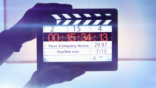 reveal your Logo or Company Name in an amazing Real Film Studio