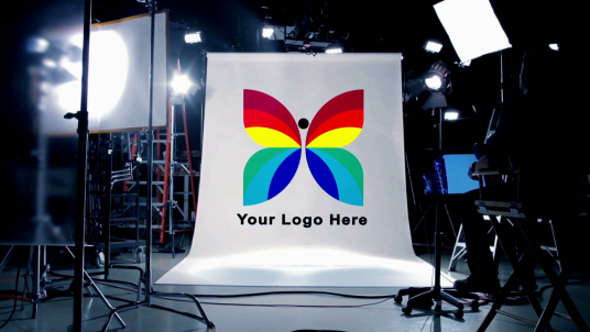 cccccc-reveal your Logo or Company Name in an amazing Real Film Studio