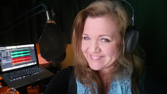 deliver a Professional AmericanCalifornian Female Voiceover ~ 27 years Broadcast experience