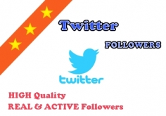 I will add REAL Active 1000 Twitter Followers