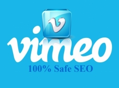 I will do safe SEO to share a Vimeo Video