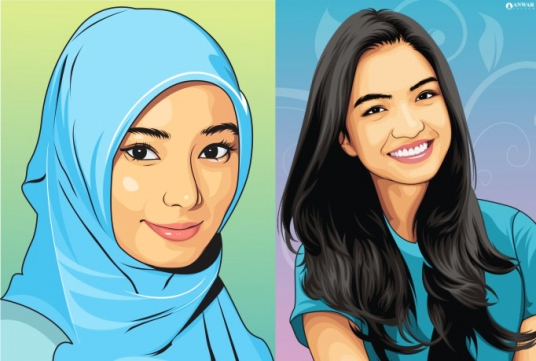 Make Your Photo Into Amazing Vector Cartoon For 5 Anwar16 Fivesquid