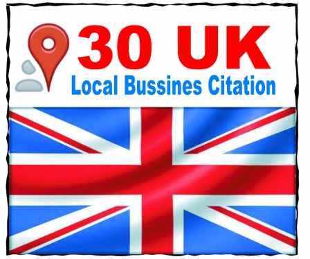 list your local business details to the 30 top UK citations sites to boost your Google places