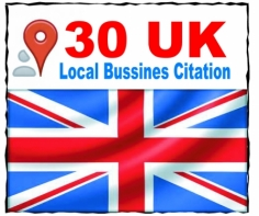 I will list your local business details to the 30 top UK citations sites to boost your Google pla