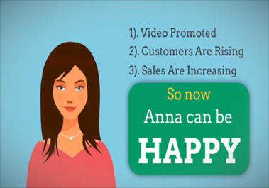 create a cool chirpy Animated Video Commercial to Promote your Business, Product or Service