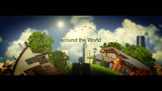 create this ASTOUNDING and flattering World Voyage Intro Animation