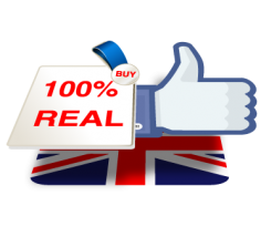 I will add Real and active 200+ UK Facebook Fanpage like