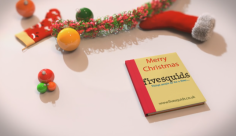 I will create this amazing Christmas greeting video pop art book