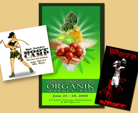 create High-impact promotional flyers, posters, brochure, ebook cover, facebook header and banner