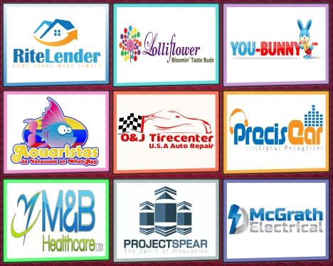 Design 3 Awesome Vector LOGO For Your Business