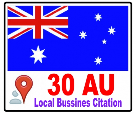 listing your business details to 30 top Australia Citations sites to boost your Google+ places