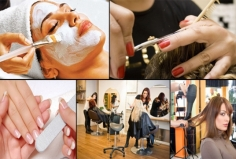 I will send you The US or UK or Canada or AU beauty salons and other related services contact lis