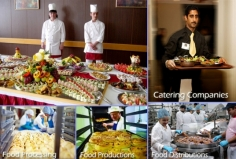 I will provide you catering, food manufactures companies contact database