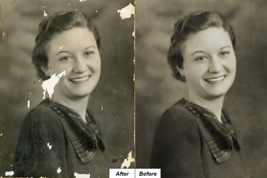 Restore old and damaged photos for £5 : ArtOnica - fivesquid
