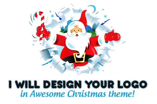 make your logo look Gorgeous for Christmas
