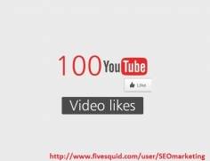 I will Give you 100+ Staying Youtube Video Likes in 24-48 Hours
