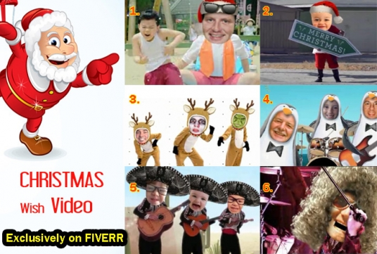 make you Happy CHRISTMAS video starring you