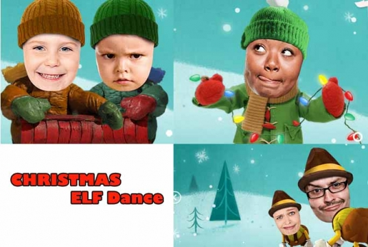 make Funny CHRISTMAS Elf video starring you