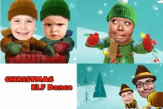 I will make Funny CHRISTMAS Elf video starring you
