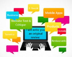 I will test & review your mobile phone app or website.