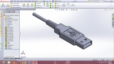 I will draw/design an object or even an assembly using solidworks software