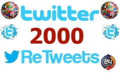 I will add 2000 Retweets to your Tweet