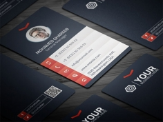 I will  do corporate business card  2 side