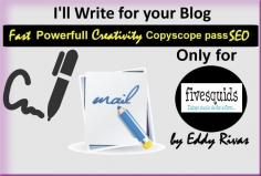 I will write an article for your blog
