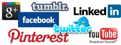 I will give you 10 Facebook share, 10 Twitter tweets, 10 Google plus, 10 Pinterest