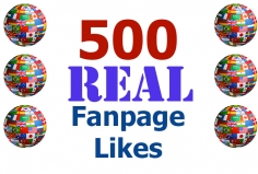 I will add 500 Real Arabic Facebook Likes from to your Page