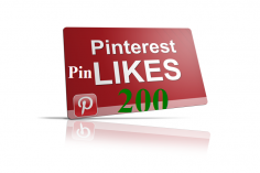 I will add 200 Pinterest Likes to your Pin