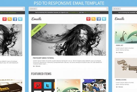 psd to email newsletter html with inline css