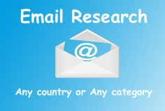 I will do research email address list