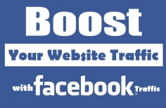 I will give you 100% social media 5000 traffic from facebook, twitter,painterst