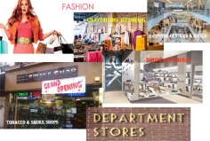 I will find out Fashion,shoes,stores,cloths,shops and preferable area contact database