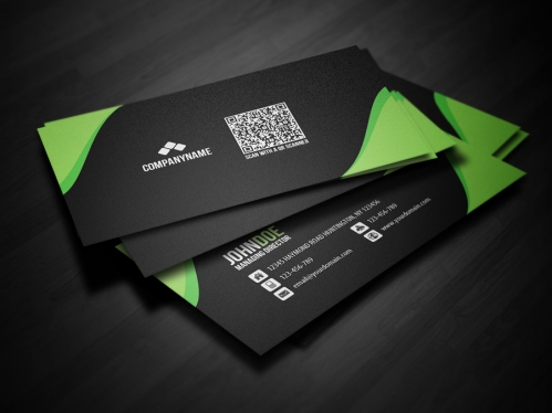 Create a professional double sided business card with qr code in 24 cccccc create a professional double sided business card with qr code in 24 hours colourmoves