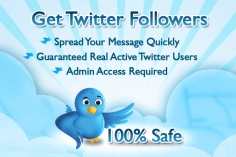 I will give you 4,000+ real twitter followers in just 20hours