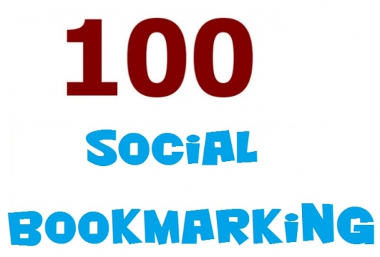 do social bookmarking on 100 high PR social BOOKMARKING sites