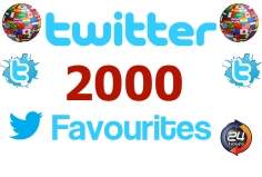 I will add 2000 Favourites to your Tweet