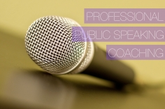 I will give you friendly public speaking and presentation coaching
