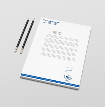 Design a clean, modern Letterhead with 3 different concepts for £5 ...