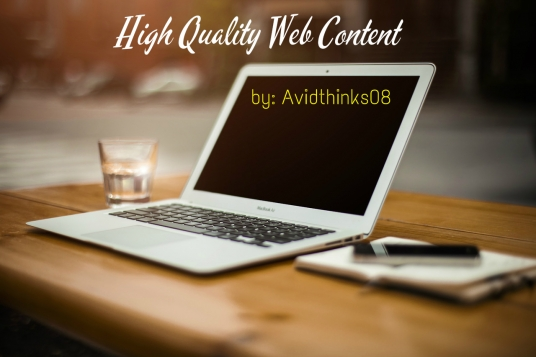 write high quality Web content of up to 600 words at a quick around time